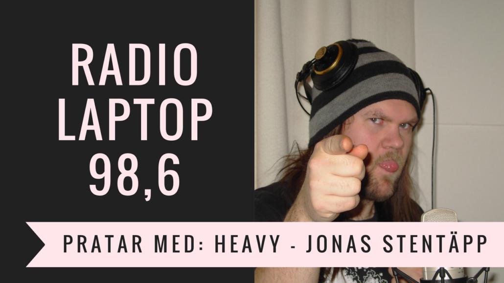 Jonas stentäpp i Radio Laptop